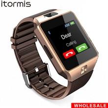 Купить с кэшбэком DZ09 Bluetooth Smart Watch Smartwatch Mobile Phone SIM TF Card Pedometer Reloj Inteligente PK A1 watch smart for Android iOS
