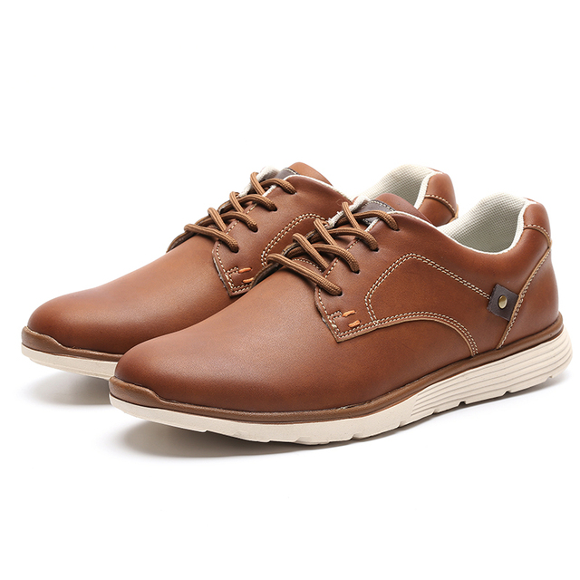 High Quality Fashion Designer Casual Men's Shoes, Artificial Leather Tennis Shoes Male Adult Sapatenis Casual Male # IL007-2
