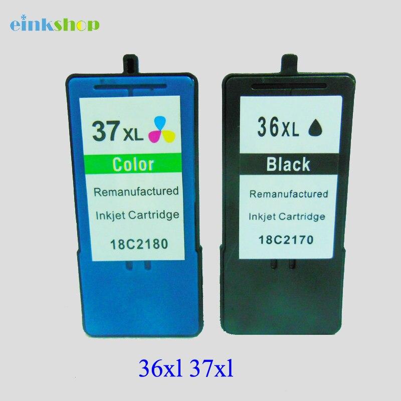 For Lexmark 36 37 Ink Cartridge for Lexmark for lexmark 36xl 36 xl For lexmark X3650 X4650 X5650 X6650 X6675 Z2420