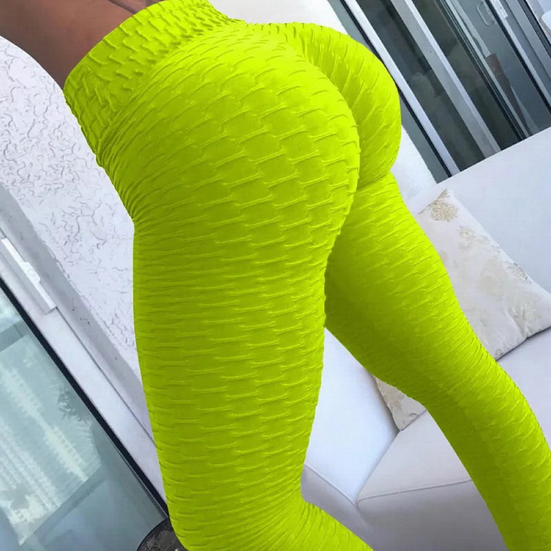 10colors Hot Women Yoga Pants Sexy White Sport leggings Push Up Tights Gym Exercise High Waist Fitness Running Athletic Trousers 2