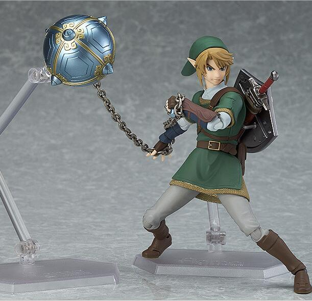 The Legend of Zelda Twilight Princess Action figure toys doll | 14cm