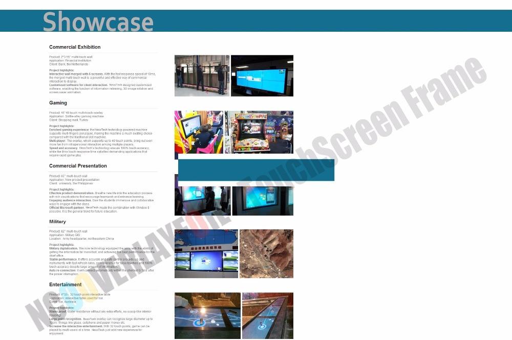 """Для 3"""" сенсорный экран панель с 10 точек/комплект интеграции(без стекла"""