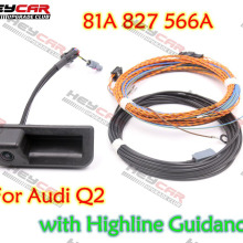 Rear-View-Camera Highline Audi Guidance-Line 827 with Wiring-Harness 81A827566A for Q2/Q3/F3