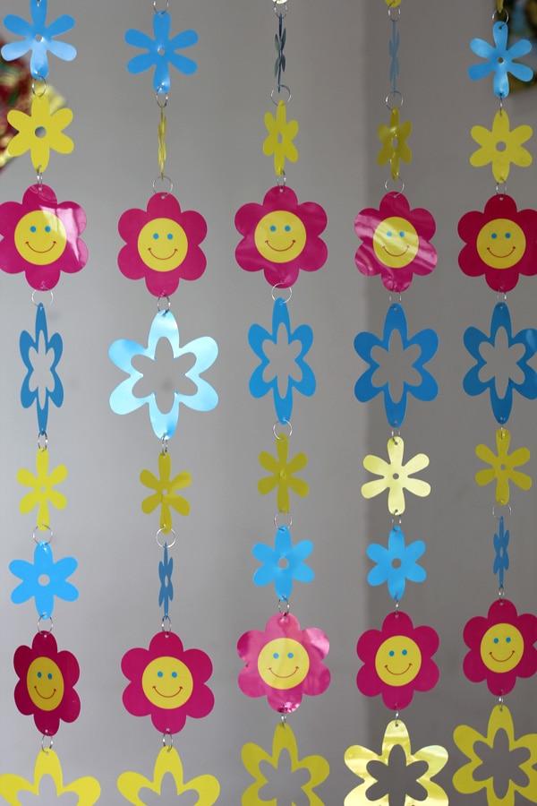 Cizgi filmi Uşaq otağı Dekorativ plastik pərdələr Daxili ev - Ev dekoru - Fotoqrafiya 2