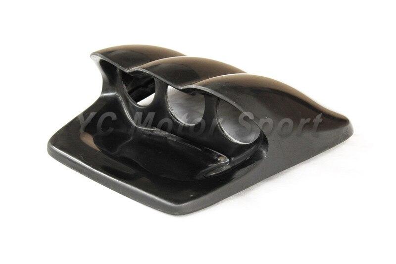 Car Accessories FRP Fiber Glass ZS Style Triple Gauge Pod Fit For 2002-2007 Impreza WRX STI 7th-9th GDA GDB Triple Gauge Pod