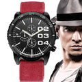 Fashion Brand Men Watch Big Case Analog Hour Quartz Watches Men's Military Luxury Sport Wristwatch Male Clock Relogio Masculino