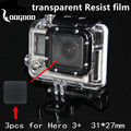 Go pro Accessories Waterproof shell lens protector films high light transmission imported materials For Gopro Hero 3+ GP173