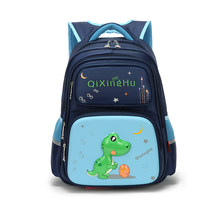 Boys/girls Waterproof school Backpack Children's Backpack Casual Orthopedic lighten the burden of school Bags(China)