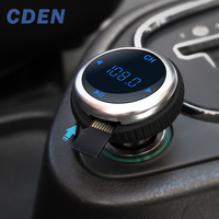 CDEN автомобильный fm-передатчик Bluetooth громкая связь Автомобильный mp3 плеер USB беспроводное зарядное устройство fm-модулятор Carkit Поддержка TF ка...