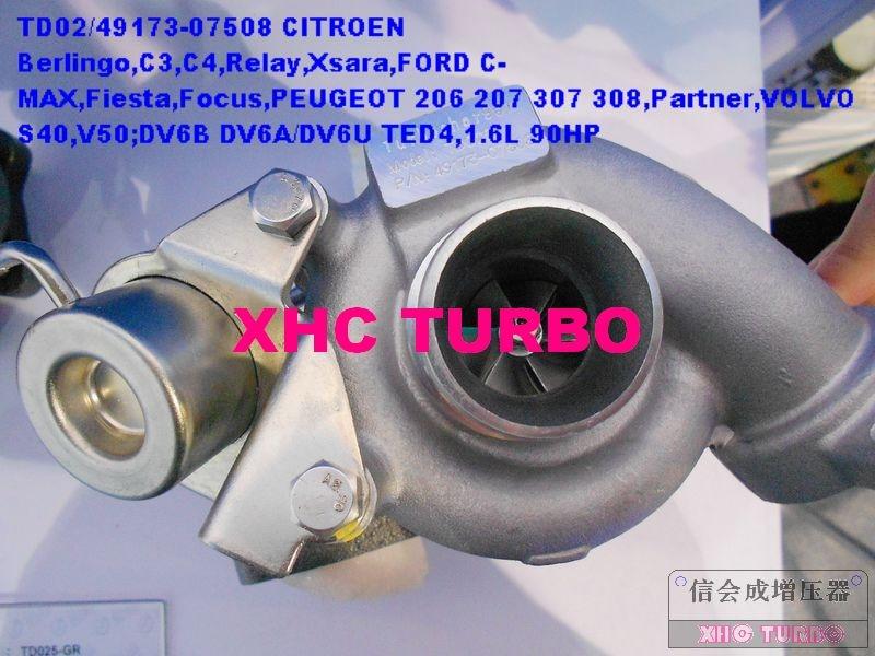 NEW K03 53039880050 0375G3 0375G4 Turbo Turbocharger for CITROEN C5 C8 Xantia PEUGEOT 406 607 HDi DW10ATED 2.0L 110HP