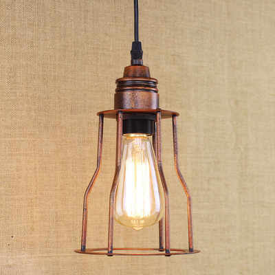 RH American Retro Style Industrial Loft Lamp Vintage Pendant Light Fixtures LED Edison Luminaire rh loft vintage decoration pendant lamp