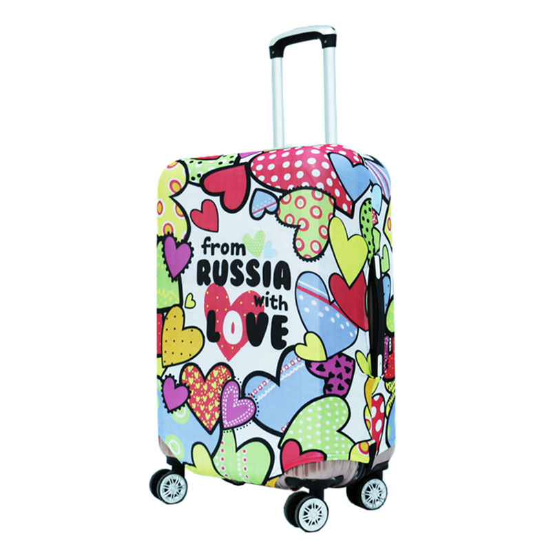 2017 Fashion Luggage Suitcase Cover Travel on Road Protector Trolley Case Travel Essential Suitcases Dust Proof Elastic Covers