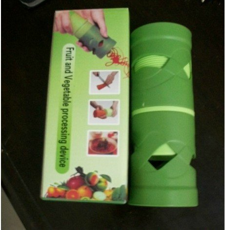 Freeshiping kitchenware /multi-functional fruit and vegetable treater slice,slicer,fruit and vegetable processing device