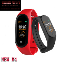 NEW M3 M4 Smart Watch Heart Rate Monitor Fitness Tracker Smartwatch Color Screen Blood Pressure Pedomater PK Xiaomi Mi Band 3 Y5