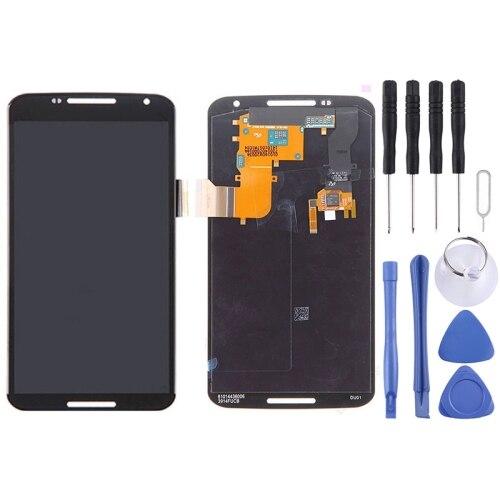 Ensemble numériseur 2 en 1 (LCD + tablette tactile) pour Google Nexus 6/XT1100/XT1103 (noir)