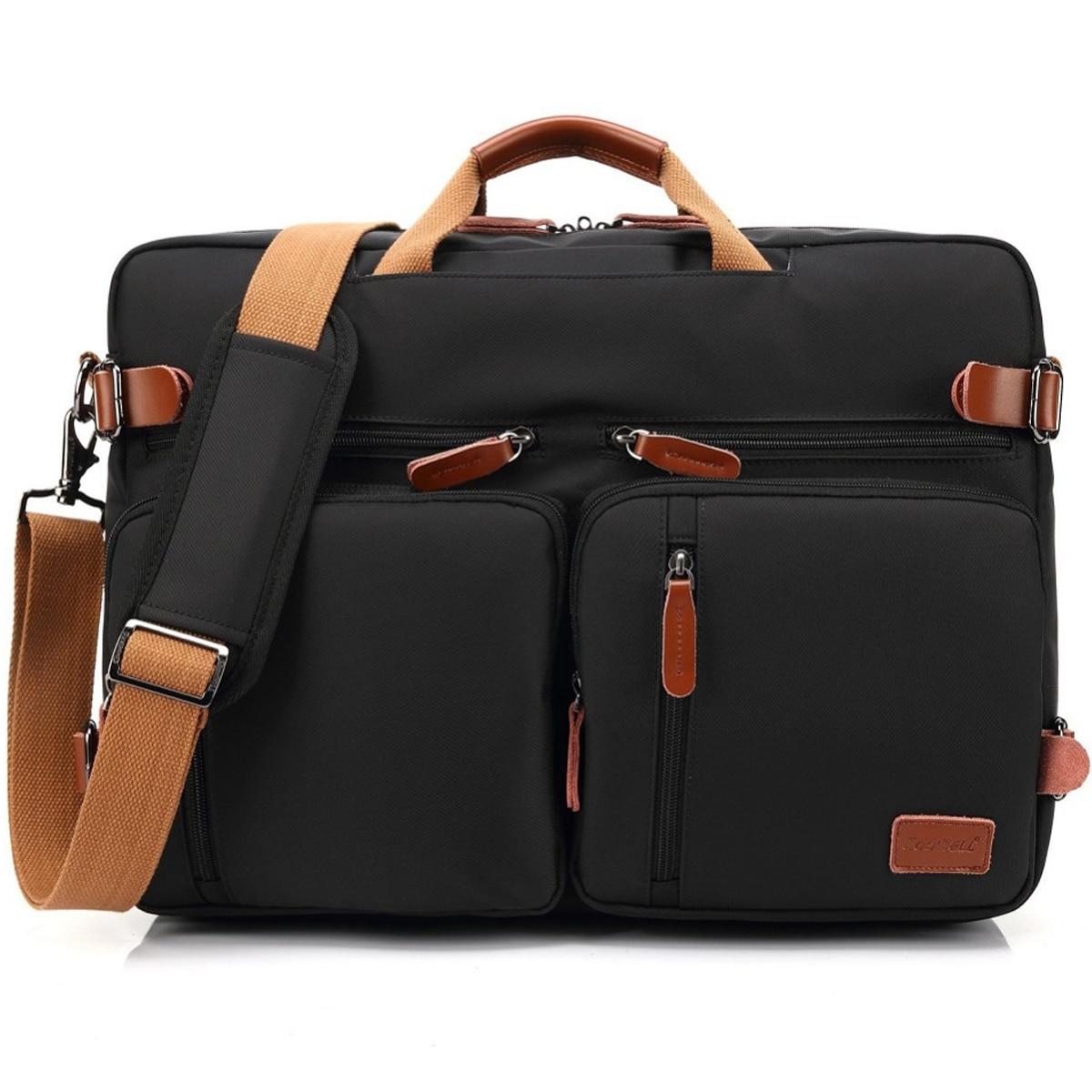 CoolBell 2018 nouveau sac à main étanche sac à bandoulière pour ordinateur portable 17 17.3 étui pour ordinateur portable grande capacité sac à dos de voyage