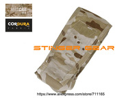 TMC Double M4 MOLLE Vertical Magazine Pouch Multicam Arid Mag Pouch+Free shipping(SKU12050854)