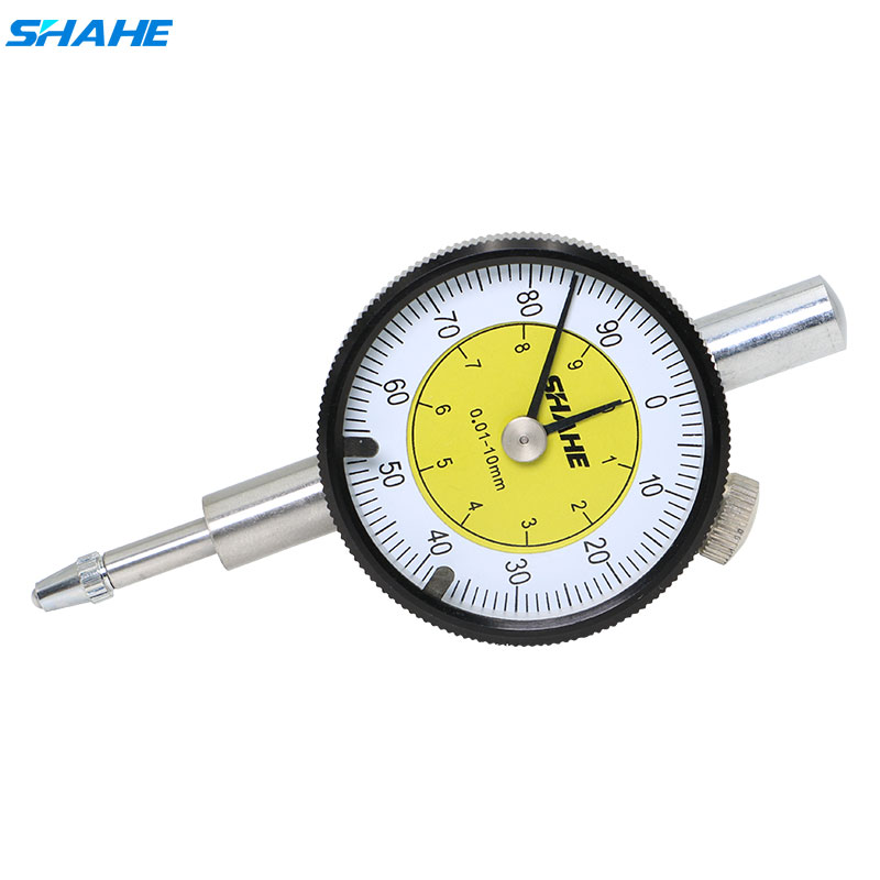 New 0.01mm Accurate Clock Dial Test Indicator Outer Measuring Gage Metric 0-10MM