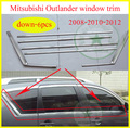 for Mitsubishi old Outlander EX window trim /frame window sill decoration 2008 2009 2010 2011 2012 year, 6-18pcs,promotion price