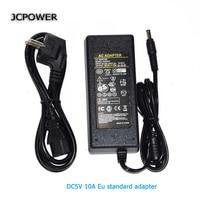 EU Plug AC110V 220V To DC 5V 10A Power Adapter 50W LED Transformer Led Strip Converter