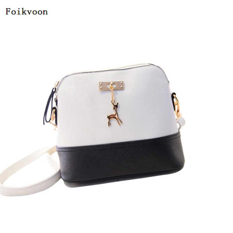 5d9230569b68 Foikvoon женские сумки мода Single-сумка для отдыха из искусственной кожи  основа посылка корейский стиль