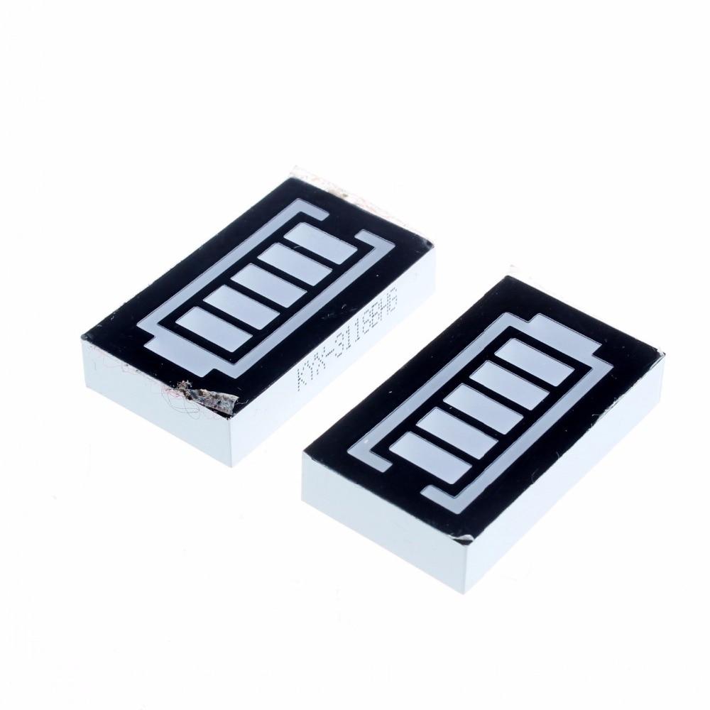 5 Сегмент Красный и Зеленый Цифровой Дисплей Батареи для Arduino (2 ШТ.)