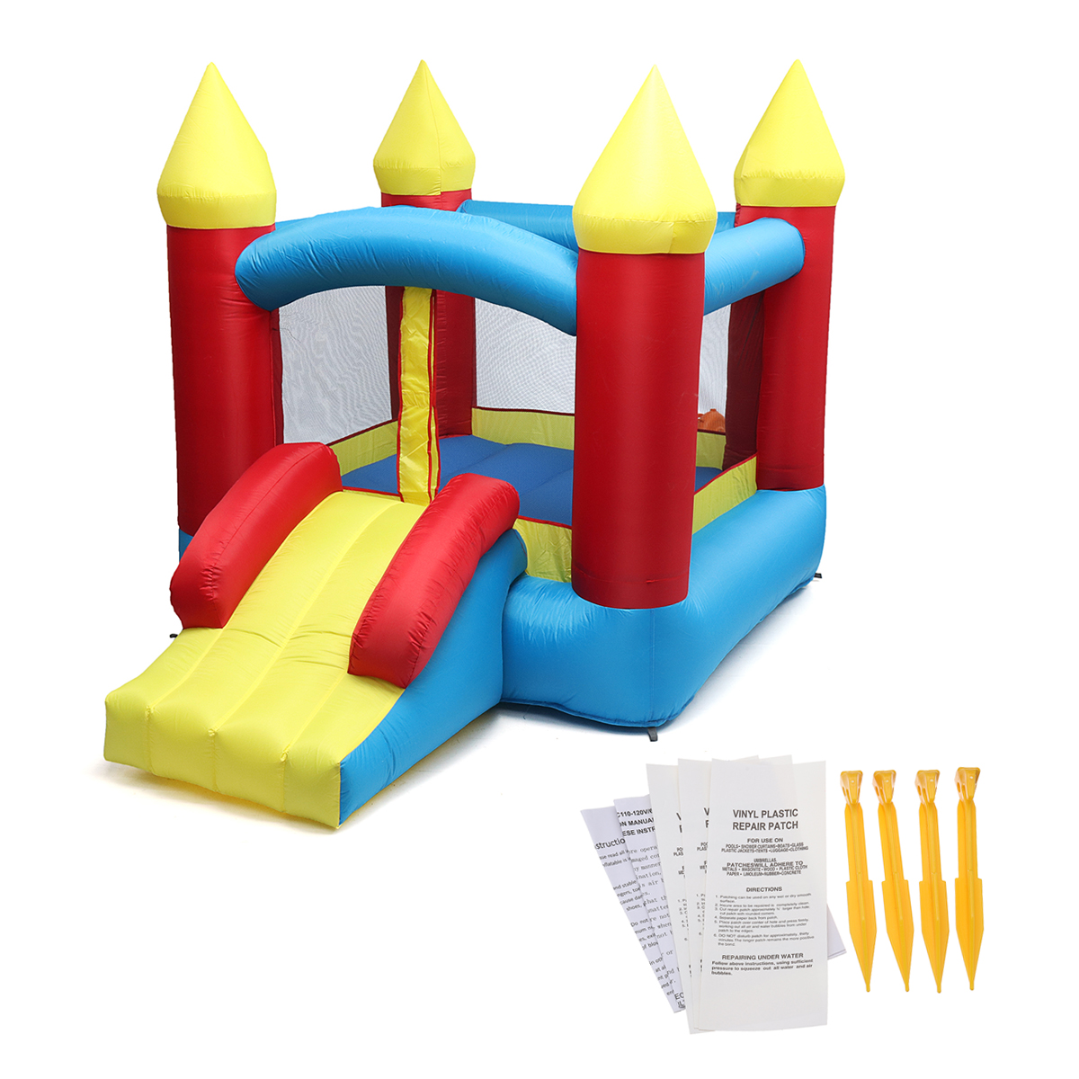 1Set  Inflatable playground  Bouncy Castle Outdoor Indoor Universal  Trampoline Inflatable Castle Playing Games for Kids Gift1Set  Inflatable playground  Bouncy Castle Outdoor Indoor Universal  Trampoline Inflatable Castle Playing Games for Kids Gift