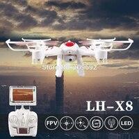 Original LI HUANG LH X8DV Real Time Video RC Quadcopter 2MP HD Camera 2 4G 6
