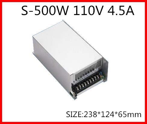 S 500 110 500 W 110 V 4.5A Einzigen Ausgang Schalt netzteil für LED Streifen licht AC DC-in Schaltnetzteil aus Heimwerkerbedarf bei AliExpress - 11.11_Doppel-11Tag der Singles 1