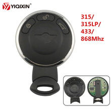 YIQIXIN 315/315LP/433/868Mhz PCF7952 ID46 Chip 3 Buttons Remote Smart Card Car Key For BMW MiNi Cooper 2007-2014 Keyless Entry