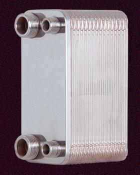 1unit 32 Plates stainless steel heat exchanger Beer Wort Chiller Cooler Home Brewing Beer Brazed plate type water heater SUS304