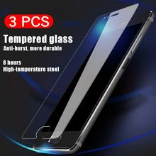3pcs/Lot 9H Tempered Glass For Huawei P30 P20 Pro P8 P9 P10 Lite Plus 2017 2015 Explosion Proof Screen Protector Film(China)