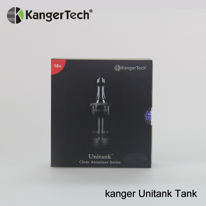 Qualified Original Kangertect Vape Atomizers Kanger Unitank Tank Top Filling Clear Atomizer Series On Hottest Promotion Electronic Cigarettes