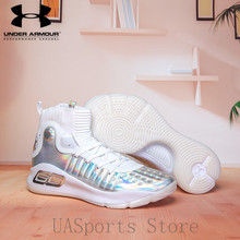 a34dbec713fd Under Armour Women Curry 4 Light Sport Basketball Sneakers Athletic Outdoor  Cushioning Shoes Low Top Unique
