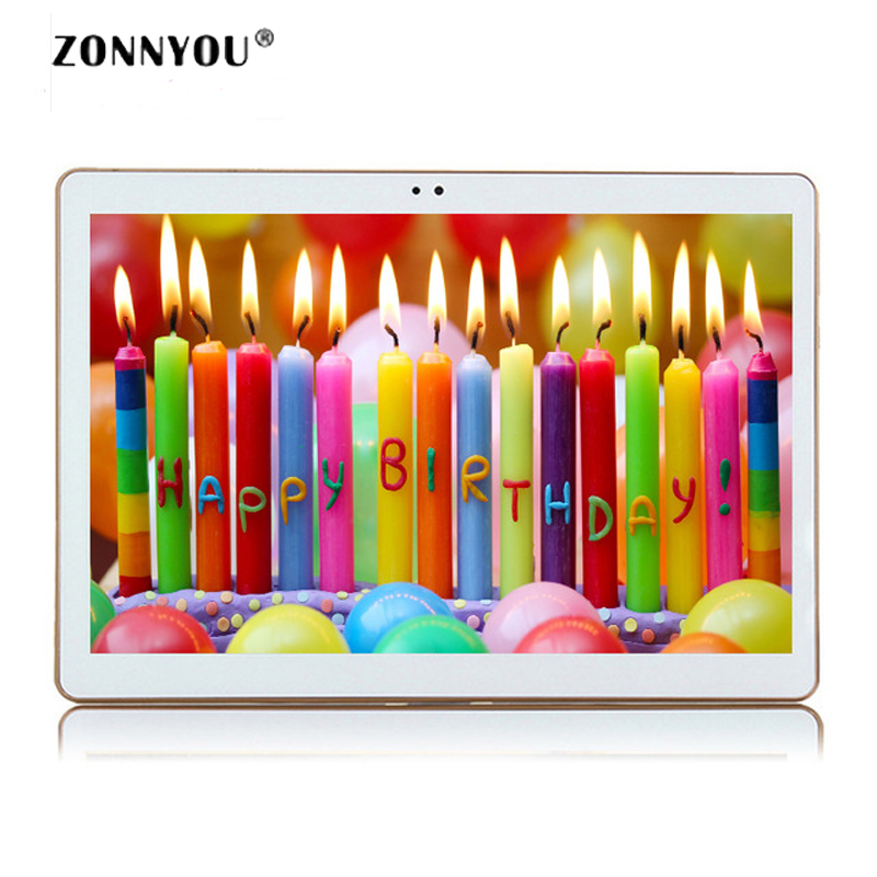 10.1 inch Tablets PC Android 6.0 IPS HD 3G Call Octa Core 4GB RAM 32GB Dual SIM 5.0MP GPS Bluetooth Wi-Fi Tablet PC