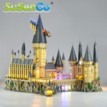 SuSenGo Led Light Up Kit For Hogwart's Castle Light Set Compatible With 71043 (PRE-ORDER OCT 30 BATCH)(China)