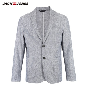 JackJones Men's Cotton Suit Blazer Casual Jacket Menswear 219108515