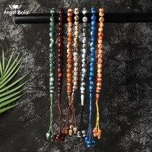 Tesbih Islamic Prayer Beads Tasbih Muslim Prayer Beads Rosary Charm Jewelry Islam Bracelet Allah Middle East Jewelry