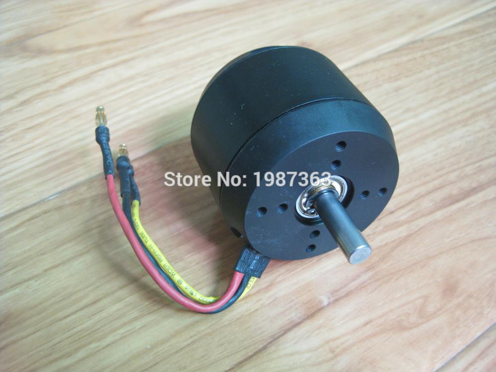 Free Shipping N6354 2300w Brushless Motor DC Outrunner Motor For Electric Skate Board DIY N6354 200KV Brushless Sensorless Motor