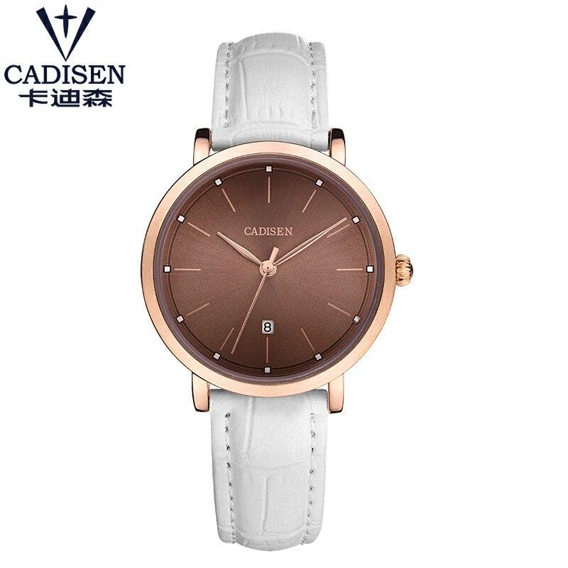 Cadisen Marca de lujo Relojes de cuarzo para mujer vestido Reloj - Relojes para mujeres