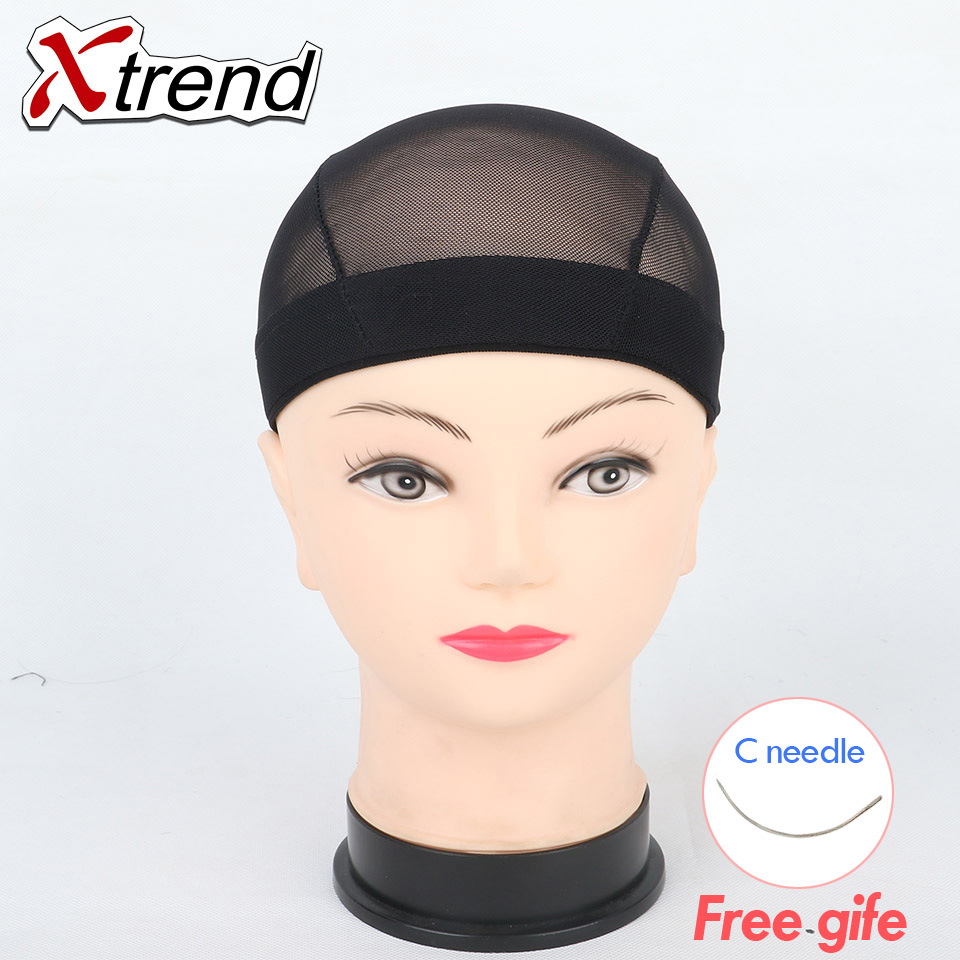 5dccdea4feb Cheapest 1-10pcs black  Dome Breathable Wig Caps Easier Sew In Hair  Stretchable Weaving