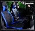 Productos personalizados 2016 nuevo arriva 5 four season cubre asientos para 1 Unidades estilo PU fundas de asiento de coche cubierta de asiento de coche deportivo