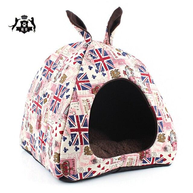 Inglaterra Estilo Gato de La Casa Con Orejas Desmontable Esponja ...