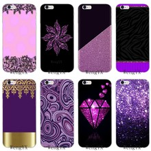 luxury black gold purple Slim silicone Soft phone case For LG G2 G3 mini spirit G4 G5 G6 K7 K8 K10 2017 V10 V20 V30(China)