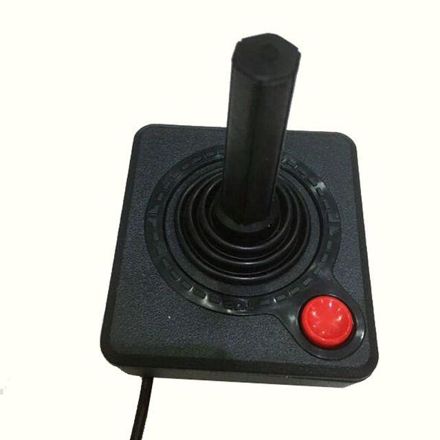 Retro Classic  Controller Gamepad Joystick for Atari 2600 Console System Black