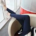 La primavera y el otoño de maternidad pantalones abdominales nueva gran tamaño de corea LEGGINGS sz8048