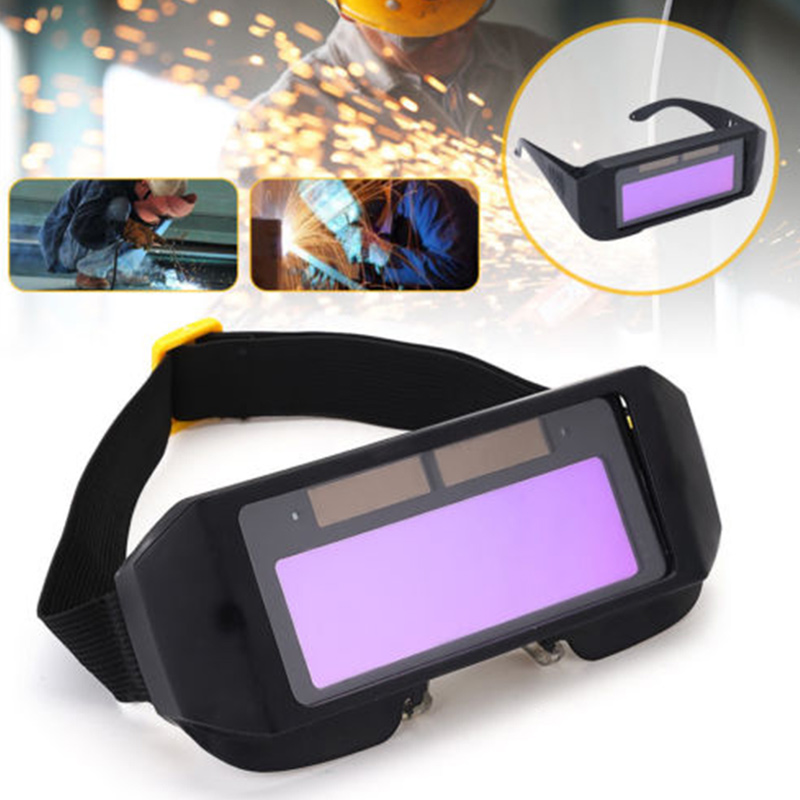 Auto Darkening Welding Helmet DIN11 Durable Automatic Light Change Anti-Glare Eyes Shied Goggle Glasses Masks Autos Shades