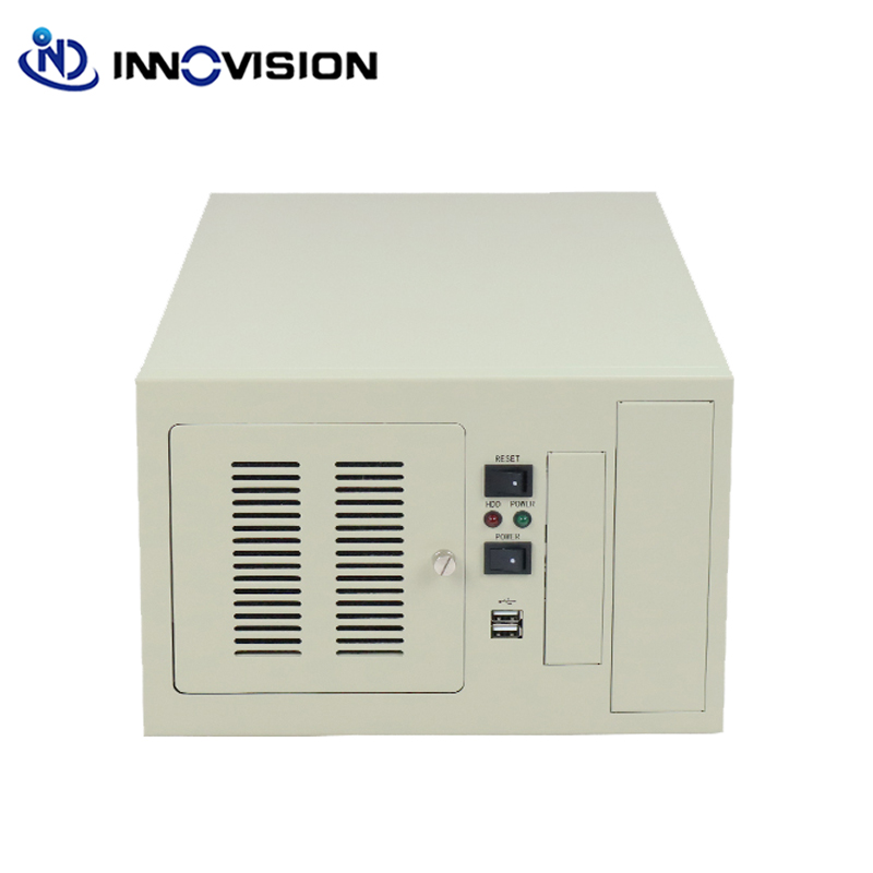 Compact wallmounted chassis IPC2406C industrial computer case supporting 6slot industrial ISA backplane-in Industrial Computer & Accessories from Computer & Office
