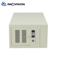 Compact wallmounted chassis IPC2406C industrial computer case supporting 6slot industrial ISA backplane
