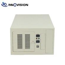 קומפקטי wallmounted מארז IPC2406C תעשייתי מחשב מקרה תמיכה 6 חריץ תעשייתית ISA לוח אם